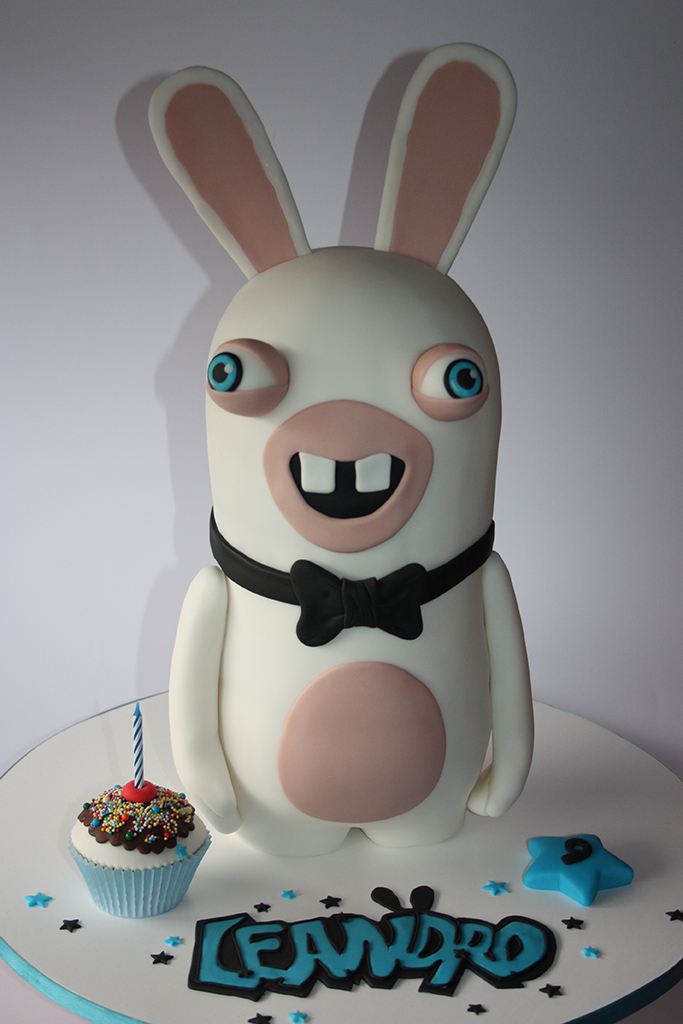 Cakes Shop Topper Rabbids