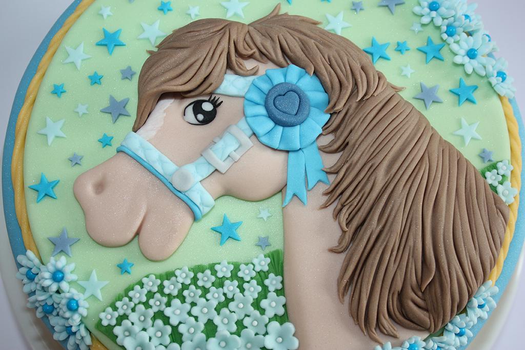 2d Pferd Torte Lealu Sweets