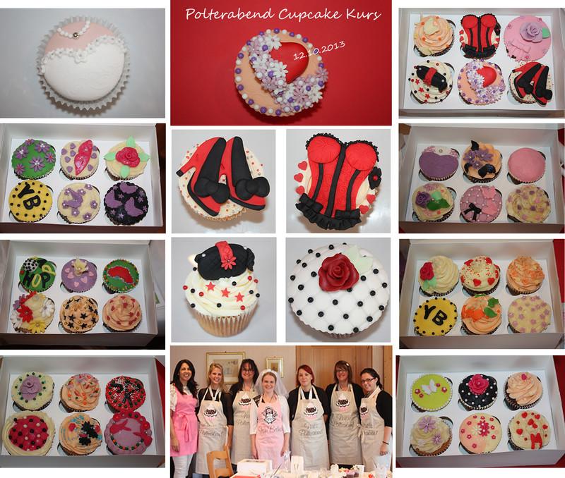 polterabend cupcake deko workshop oktober 2013 lealu sweets. Black Bedroom Furniture Sets. Home Design Ideas