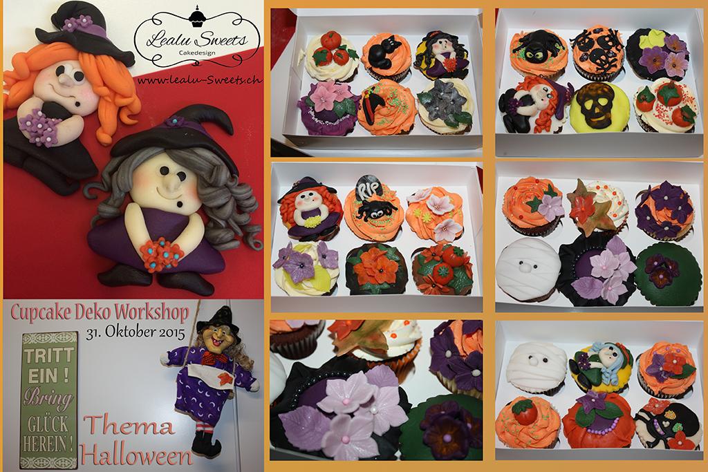 "Cupcake Deko Workshop ""Halloween"" Oktober 2015"
