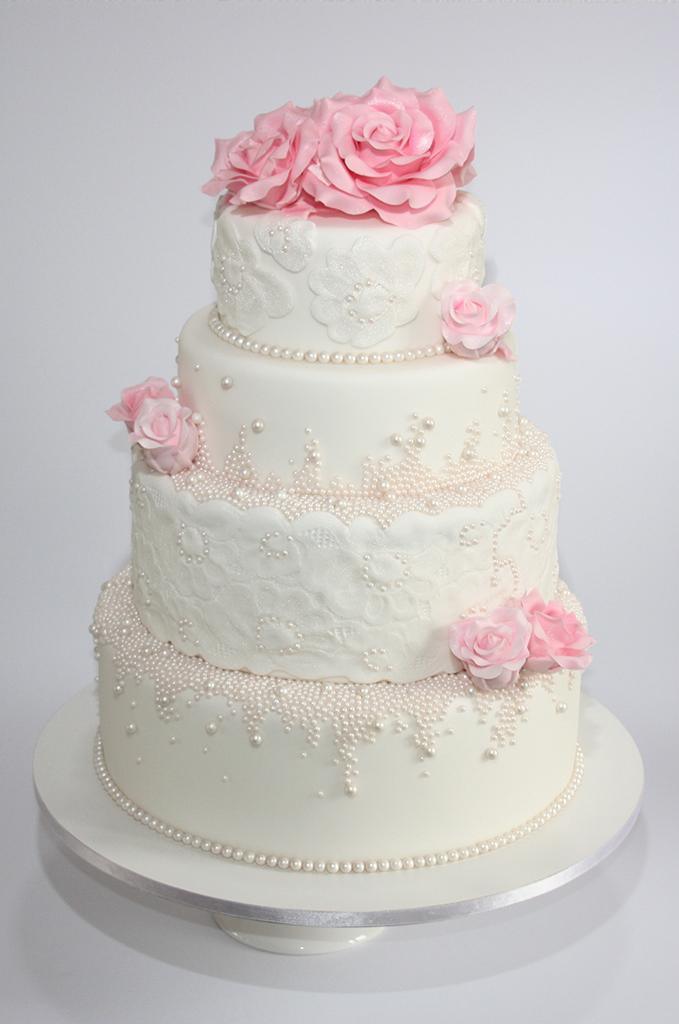 Plumeria Wedding Cake Pinterest
