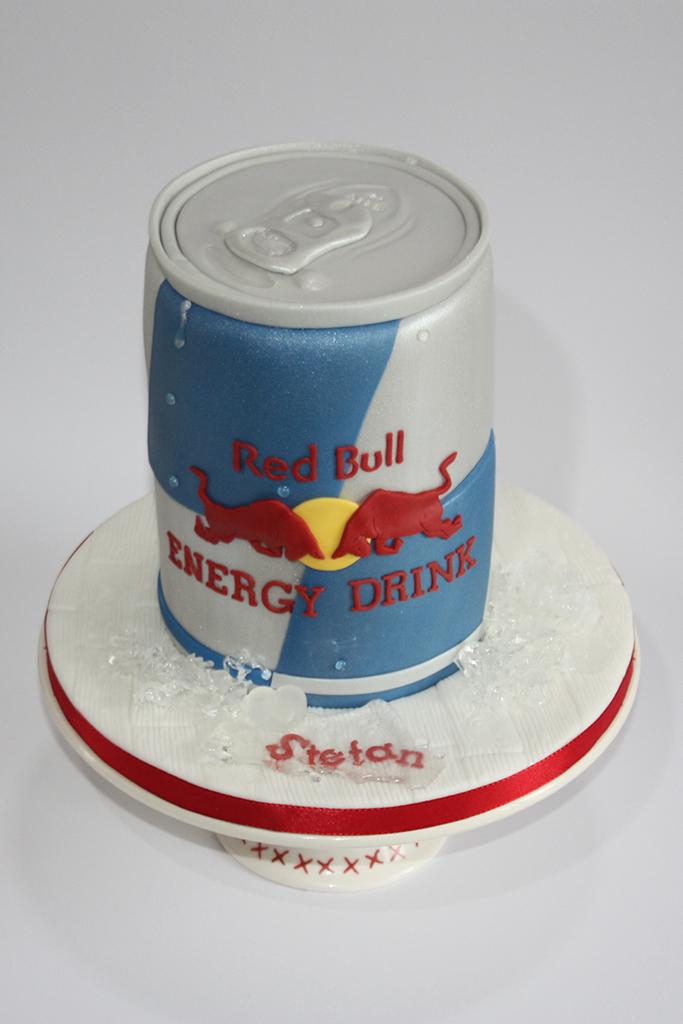 Red Bull Cake Topper