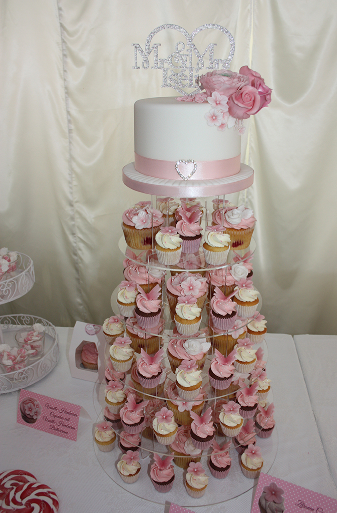 Hochzeitstorte Cupcakes Lealu Sweets