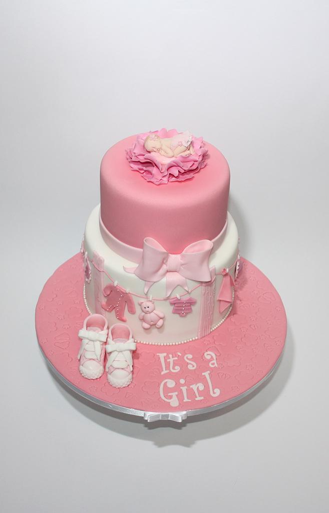 Taufe Torte Lealu Sweets