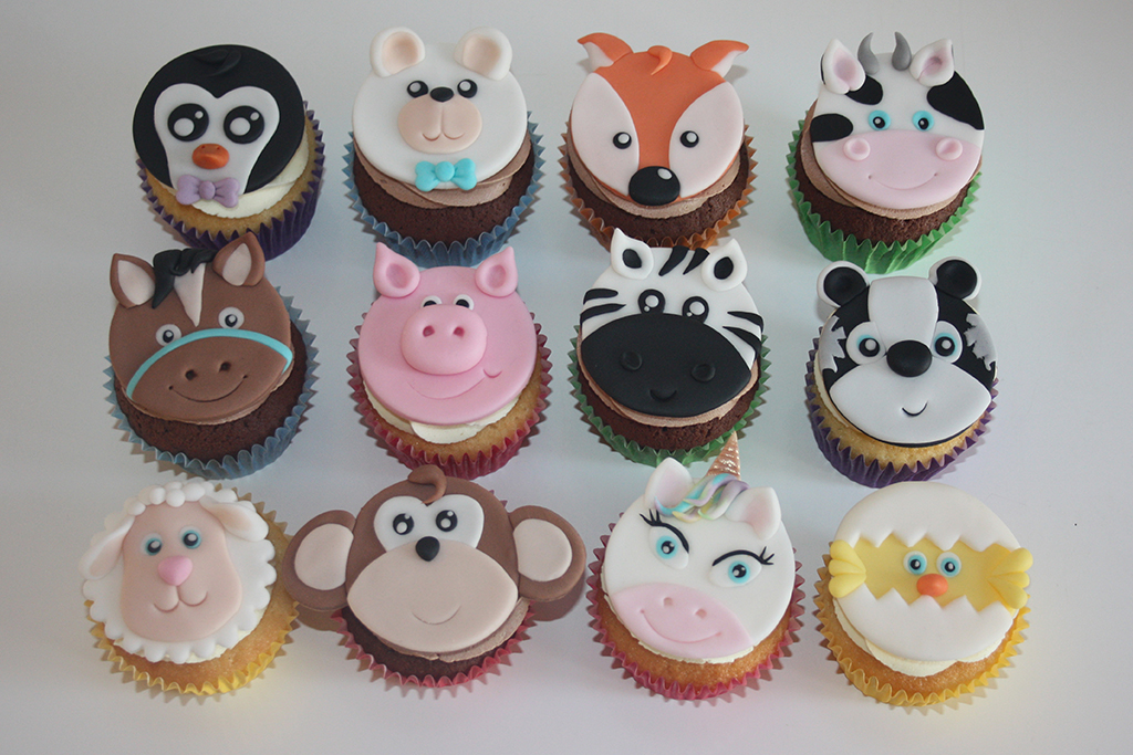 Tiere Cupcakes Lealu Sweets