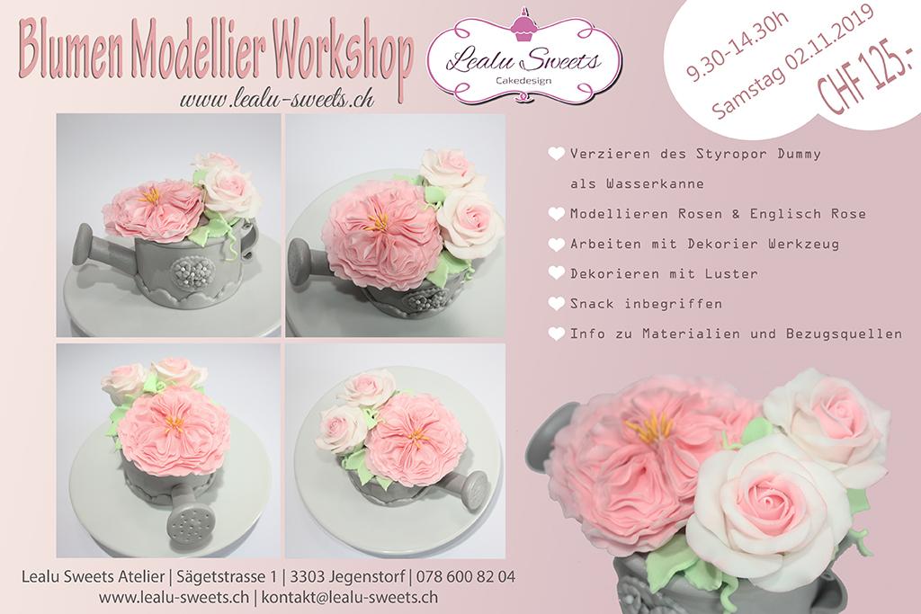 Blumen Modellier Workshop